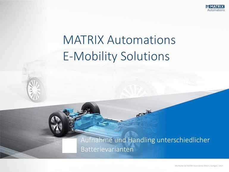 MATRIX-Automations E-Mobility Solutions